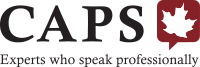 logo of the Canadian Association of Professional Speakers